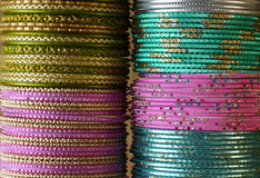 Indian bracelets Royalty Free Stock Photo