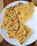 Indian bread,Puran Poli Royalty Free Stock Image