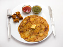 Indian breakfast Royalty Free Stock Photography