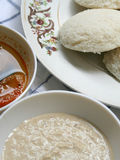 Indian breakfast -idly Royalty Free Stock Images