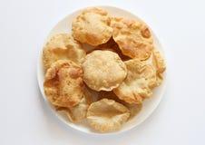 Indian breakfast poori  (boori ) Royalty Free Stock Photos