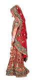 Indian bridal. Indian bride in lehnga dress Royalty Free Stock Image