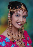 Indian bridal jewelry Stock Photo