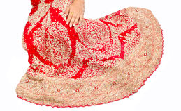 Indian Bridal lehnga Royalty Free Stock Photo