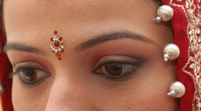 Indian bride Royalty Free Stock Images