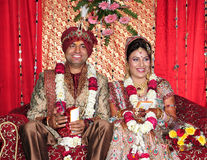 Free Indian Bride And Groom Stock Image - 27977751