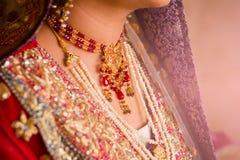 Indian bride hands. soft focus, blur Stock Photos