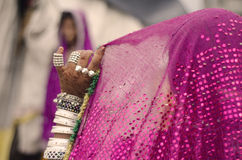 The Indian Bride Stock Photo