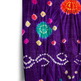 Indian bright textile Royalty Free Stock Images