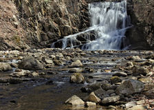 Indian Brook Falls Royalty Free Stock Images