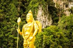 Indian buddha at Batu Caves Kuala Lumpur Malaysia. Large Indian buddha at Batu Caves Kuala Lumpur Malaysia Royalty Free Stock Photography