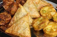 Indian Buffet Food Royalty Free Stock Photography