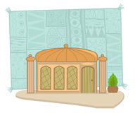 Indian building Royalty Free Stock Images