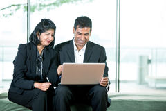 Indian Business colleagues. Stock Photos