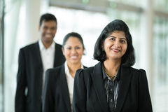 Indian business colleagues standing together. Stock Photo
