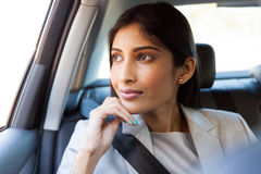 Indian business executive daydreaming Royalty Free Stock Photography