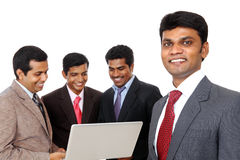 Indian business head with his team Royalty Free Stock Image