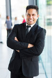 Indian business man office Stock Photography