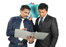 Indian business people Stock Photos