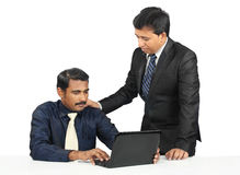 Indian business people Stock Images