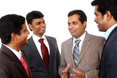Indian business professional discussing Royalty Free Stock Image