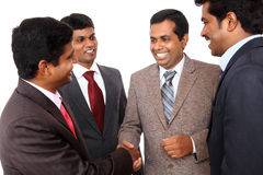Indian business professional meeting Stock Photos