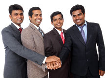 Indian business professional team cooperation Royalty Free Stock Image