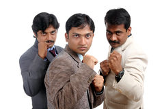 Indian business professional team ready to action Royalty Free Stock Photo