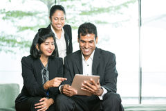 Indian Business team using digital tablet. Stock Image