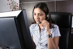 Indian business woman Stock Image