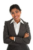 Indian business woman arms crossed Royalty Free Stock Image