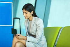 Indian business woman Stock Photo