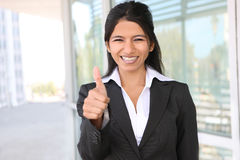Indian Business Woman SUccess Royalty Free Stock Photos