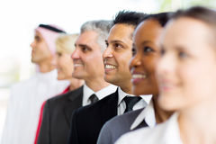 Indian businessman co-workers Stock Image