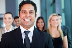 Indian businessman colleagues Royalty Free Stock Images
