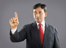 Indian Businessman with Expression Royalty Free Stock Photo