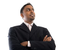 Indian businessman looking away Royalty Free Stock Photography