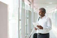 Indian businessman outdoor Stock Photos
