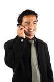 Indian Businessman on Phone Royalty Free Stock Photography
