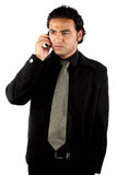Indian Businessman on Phone Stock Photography