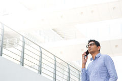 Indian businessman on the phone Stock Photography