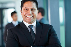 Indian businessman portrait Royalty Free Stock Photos