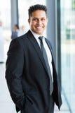 Indian businessman suit Stock Image