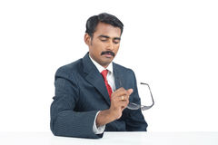 Indian Businessman with Sunglasses Stock Photos