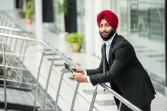 Indian businessman Royalty Free Stock Images