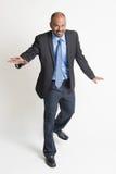 Indian businesspeople walking balance Royalty Free Stock Image