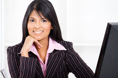 Indian businesswoman Royalty Free Stock Image