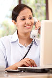 Indian businesswoman Stock Images