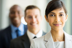 Indian businesswoman colleagues royalty free stock photo