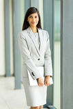 Indian businesswoman  laptop Stock Image